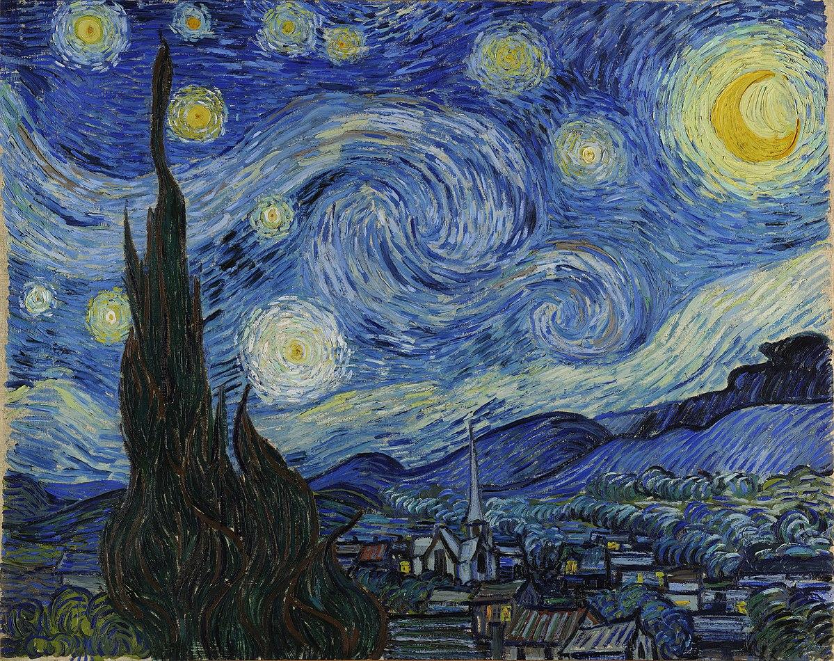 As sombras de Van Gogh